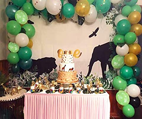 Amazon Com Jungle Safari Theme Party Decorations 100 Latex