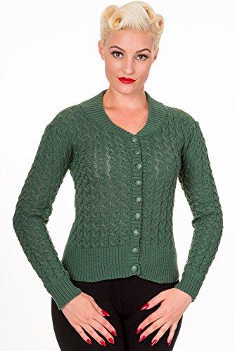 Banned - Cárdigan - para mujer Wasabi Green