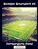 Seattle Sounders FC CenturyLink Field Notebook: Graph Paper: 4x4 Quad Rule, Student Exercise