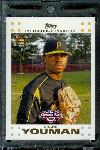 (2007 Topps Opening Day #174 Shane Youman Pirates - Mint Condition - Shipped in Protective Display Case !)