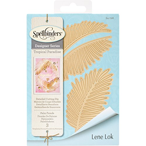 Spellbinders Shapeabilities Palm Fronds Tropical Paradise Etched/Wafer Thin Dies