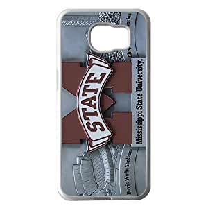 Mississippi State University White Phone Case For Samsung Galaxy S6