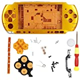 Replacement Controller Skin PSP Protective Case, Game Console Shell with Screwdriver for PSP3000