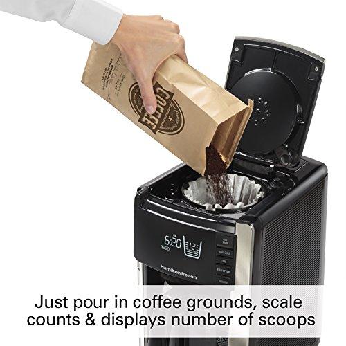 Hamilton Beach 45300 Programmable Coffee x 8.66 13.31 Trucount