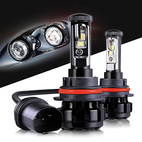 LED Headlight Bulbs 9004 CREE Chips All-in-One Conversion Kit,12000 Lumen 6000K Cool White Anti-flicker Fit for High Beam Low Beam Fog Car Lights Replacement by Max5-2 Years Warranty ... Conversion Kit 9004 Bulb