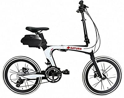 Premium Deluxe Aluminum Electric Folding Bicycle with 250Watt Ride Assist Motor. Portable Bike For Urban Transportation. Best Ebike with High-end Quality Components. Affordable Sale Price.