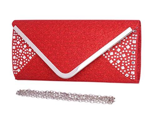 Crossbody Clutch Purse Two Handbag Grey Evening Saturn Day Tone of Bag Envelope qpUg0a