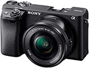 Sony Alpha a6400 Mirrorless Camera: Compact APS-C Interchangeable Lens Digital Camera with Real-Time Eye Auto