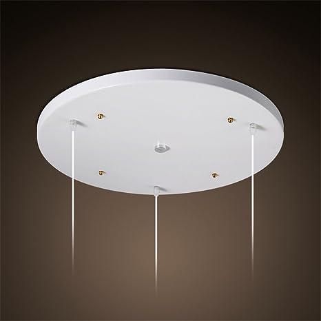 Modern LED Pendant Flush Mount Ceiling Fixtures Light Round three ...