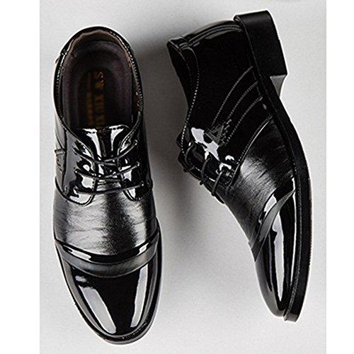 da Casual Sposa Oxford Scarpe Black Stringate Punta Oxford Scarpe da da Classica Paio Uomo Lacci E da Ufficio Moda Scarpe Derby Scarpe Uomo da con di Un Formali 7wXBqw