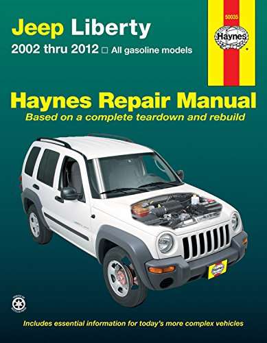 - Jeep Liberty 2002 thru 2012: All gasoline models (Haynes Repair Manual)