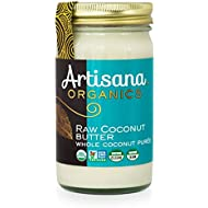 Artisana Organics - Coconut Butter, Organic, Certified R.A.W spread, no added sugar, Non-GMO and vegan (14oz)