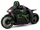remote motorcycle - Velocity Toys Speed Lightning Remote Control RC Motorcycle Car 2.4 GHz Control System Rechargeable RTR w/ Bright LED Headlights (Colors May Vary)