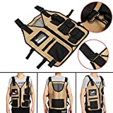 Tool Organizers Electrician Carpenter Framer Plumber Craftman Construction Pouch Bag Tool Vest