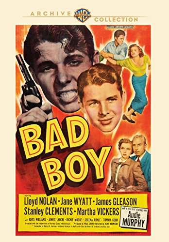 Amazon Com Bad Boy Lloyd Nolan Jane Wyatt Audie Murphy