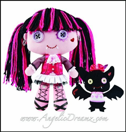 Monster High Draculaura and Count Fabulous Doll &