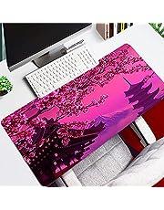 Pink Cherry Blossom Gamers Decoracion musmatta stor 900 x 400 utökad gummi dator tangentbord musmatta-5_400x900x3 mm