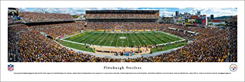 Pittsburgh Steelers - 50 Yard - Day - Blakeway Panoramas Unframed NFL Posters