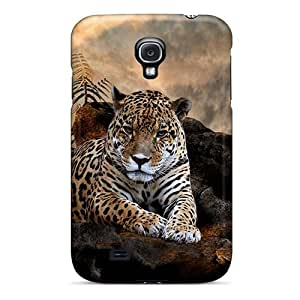 NikRun UyXbb4763MaIFN For HTC One M7 Case Cover With Nice Jaguar In The Wild Appearance