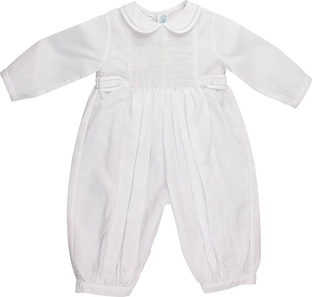 Boys White Long Sleeve Baptism Christening Outfit