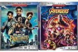 Blast off Ultimate Marvel Double Feature Avengers Infinity War + Black Panther Blu Ray + Digital Explosive Super Hero Team Pack