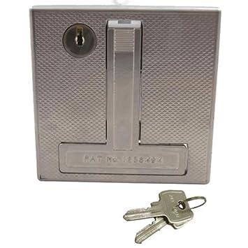 garage door handleMerlin Flush Lock Garage Door Handle  To Suit Henderson Doors