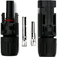 MC4 Connector Pair for Solar Panels by WindyNation