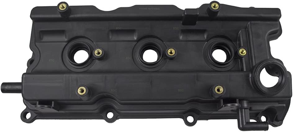 Pair Set Front Engine Valve Covers w//Gaskets Replacement for Infiniti I35 Nissan Altima Maxima Murano Quest 13270-8J112 13264-7Y000