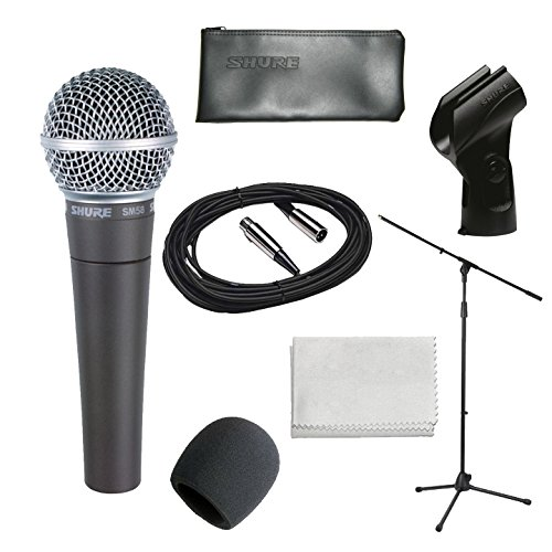 shure-sm58-lc-vocal-cardioid-dynamic-microphone-bundle-with-gearlux-boom-stand-xlr-cable-windscreen-