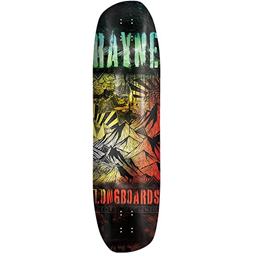 - Rayne Signature Series George Mackenzie G-Mack Skateboard Deck, Assorted, 38