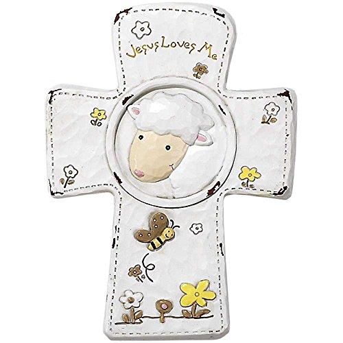 Dicksons Jesus Loves Me Cross, - Lamb Cross Little Jesus
