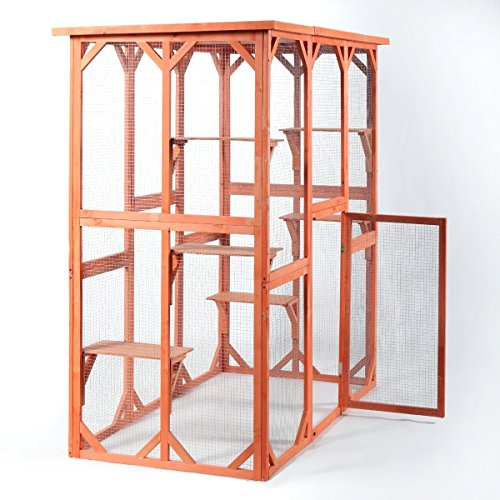 outdoor animal cage - 8