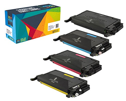 Do it Wiser ® Compatible Toner Set Black Cyan Magenta Yellow for Samsung CLP-620 CLP-620ND CLP-670N CLP-670ND CLX-6220FX CLX-6250FX CLT-K506L CLT-C506L CLT-M506L CLT-Y506L - Black Yield 5,000 Pages | Color Yield 4,000 Pages
