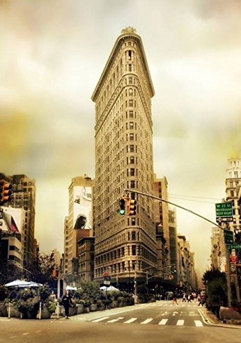Wall Art Print entitled Flatiron Crossing by Jessica Jenney | 11 x - Crossing Flatiron