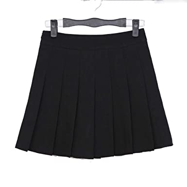 3b1eeda59e YoungG-3D New Spring High Waist Ball Pleated Skirts Harajuku Denim Skirts  Solid A-