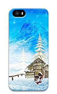 iPhone 5s Case, iPhone 5s Cases - Happy Winter Christmas Custom Design iPhone 5s Case Cover - Polycarbonate