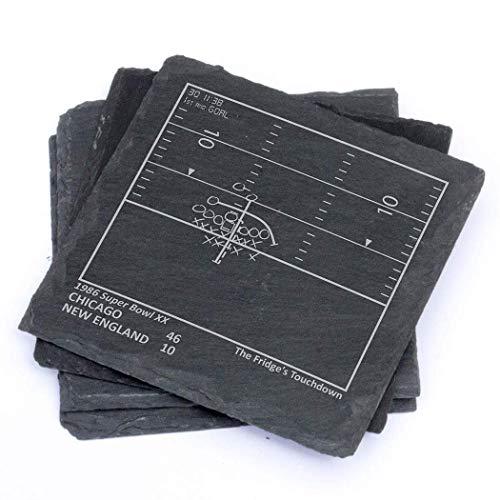 Greatest Bears Plays - Slate Coasters (Set of 4)