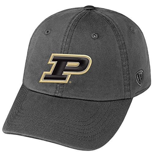 Elite Fan Shop Purdue University Boilermakers Hat Icon Charcoal