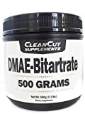 DMAE Bitartrate Powder (500 Grams/1.1 Pounds) (Dimethylaminoethanol) by Clean Cut Supplements