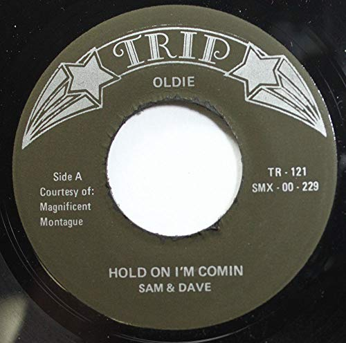Sam & Dave 45 RPM Hold On I'm Comin' / Mercy Mercy (Sam And Dave Hold On Im Comin)