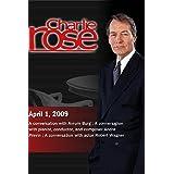 Charlie Rose - Avrum Burg / Andre Previn / Robert Wagner