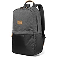Eddie Bauer Ashford Backpack Laptop School Bag Adult Men Youth Boy (Gray,Scarlet)
