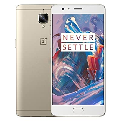 OnePlus 3, RAM 6GB+ROM 64GB 4G FDD-LTE 5.5 inch Android 6.0 Smart Phone Qualcomm Snapdragon 820 Quad Core 2x2.2GHz + 2x1.6GHz, 8.0MP+16.0MP