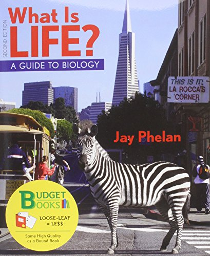 What is Life? Guide to Biology (Loose Leaf) with PrepU NonMajors Access Card (Budget Books)