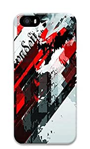 iPhone 5 5S Case Abstract Shapes 02 3D Custom iPhone 5 5S Case Cover