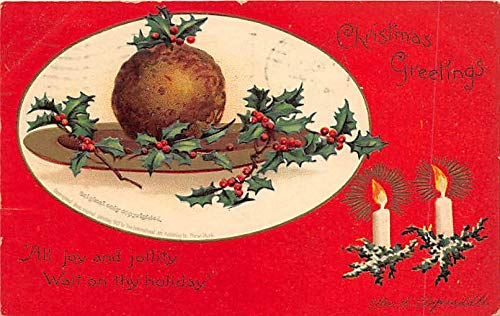 Holiday Postcards International Art Publishing Co. 1909