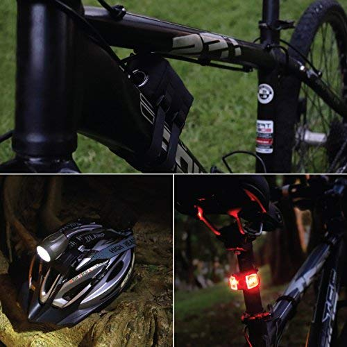 Bright Eyes Newly Upgraded and Fully Waterproof 1200 Lumen Rechargeable Mount...
