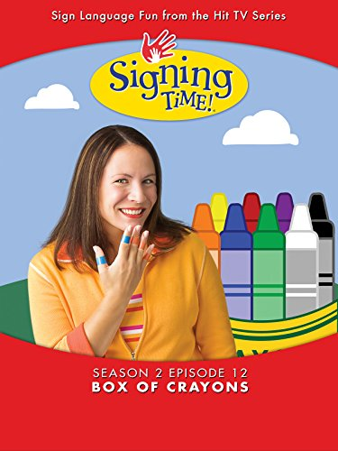 Signing Time Season 2 Episode 12: Box of Crayons by
