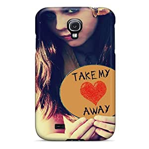 Dana Lindsey Mendez Perfect Tpu Case For Galaxy S4/ Anti-scratch Protector Case (take My Heart Awy)