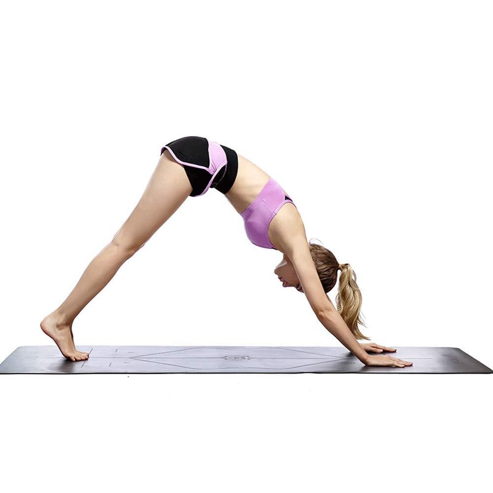 MAODATOU - Esterilla de Yoga de 4,5 mm de Grosor, de Goma ...